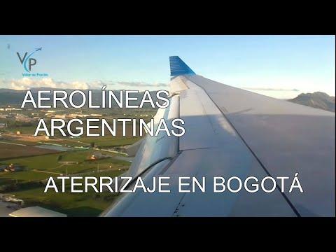 Aerolíneas Argentinas / Airbus A330-200 / Aterrizaje en Bogotá - Versión Larga