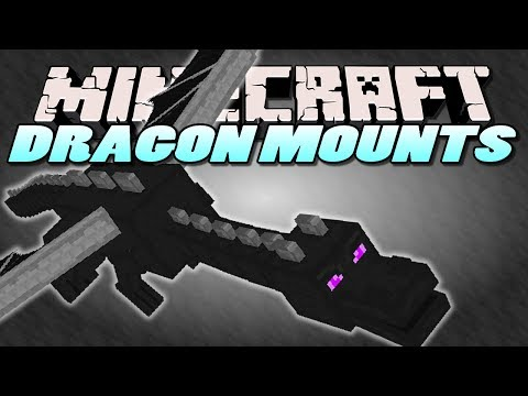 Minecraft Mods | DRAGON MOUNTS MOD (RIDE DRAGONS) | Mod Showcase