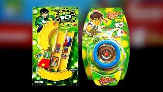 Ben10 Alien Force Car Track Set & Ben10 Yoyo Spiner