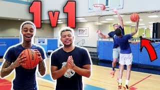 ZackTTG vs. Trash Talking FlightReacts 1v1 NBA Basketball !!