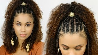 Easy, Braided Summer Style for Natural Hair