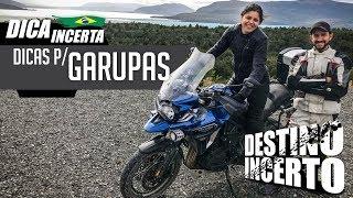 Dica para as Garupas / MOTO DICA #11 - MOTO.COM.BR