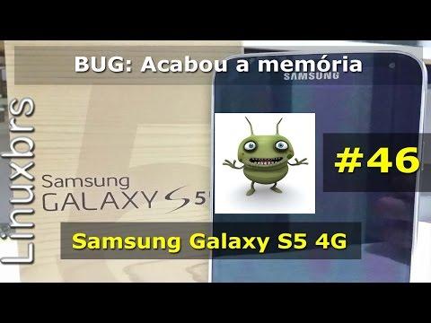 Samsung Galaxy S5 - BUG: Acabou espaço de armazenamento - PT-BR
