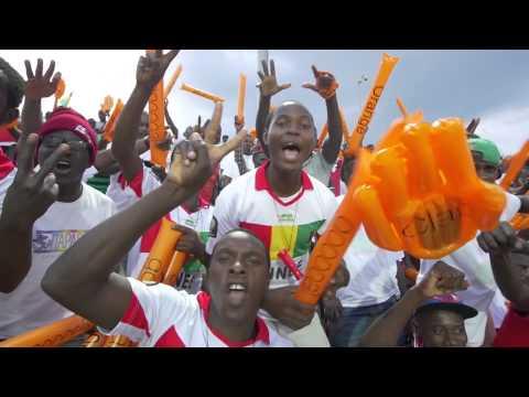 Fans before Guinea vs Mali - Orange Africa Cup of Nations, EQUATORIAL GUINEA 2015