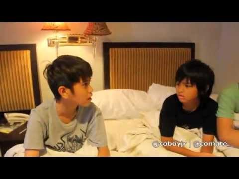 Coboy Junior Special Behind The Stage - Kendari Trip video