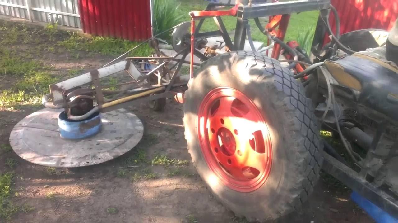 Муфта к самодельному трактору