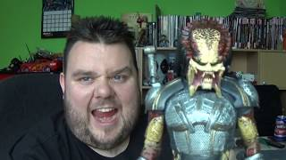 NECA The Predator 2018 Ultimate Fugitive Movie Action Figure Unboxing Toy Review