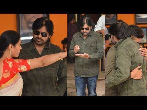 Pawan Kalyan At Film Chamber Over Comments On His Mother |  TFPC