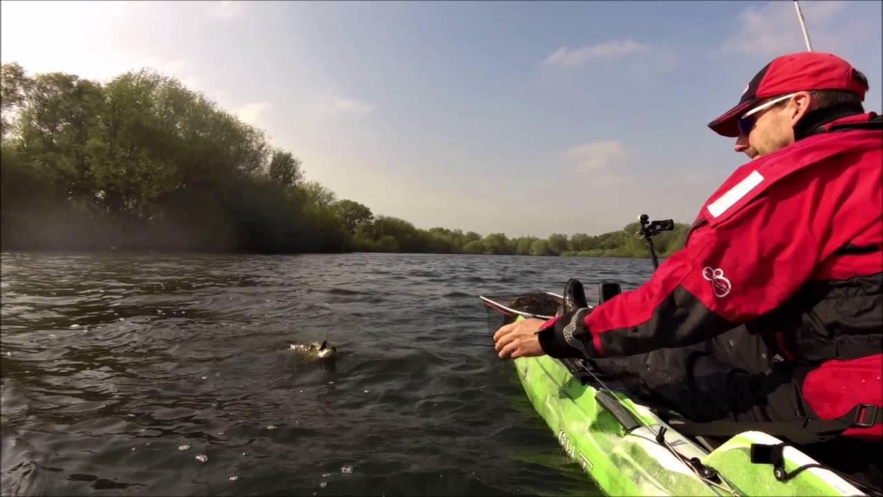 Feisty Jack Pike Kayak Fishing HD
