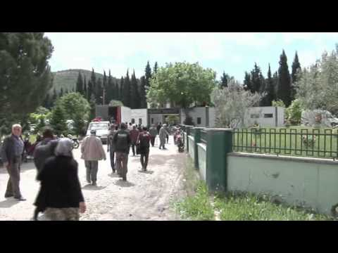 Raw: People Bury Dead From Turkish Mine Disaster
