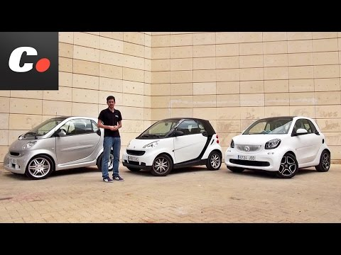 smart fortwo   Prueba / Análisis / Test / Review en español   coches.net