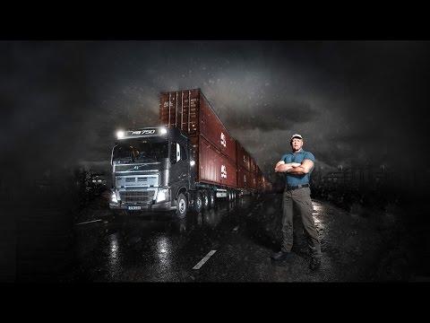 Volvo Trucks - Volvo Trucks vs 750 Tonnes: An extreme heavy haulage challenge