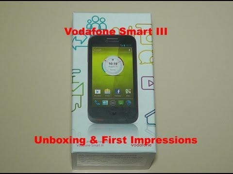 Vodafone Smart III Unboxing and First Impressions