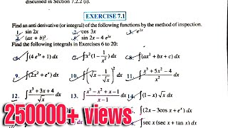 12th NCERT EXERCISE 7.1 NCERT MATHEMATICS CLASS 12 SCIENCE