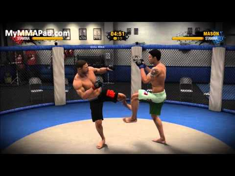 EA MMA - Career Clinch Techniques Image 1