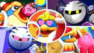 Evolution of King Dedede & Meta Knight helping Kirby (1993-2018)
