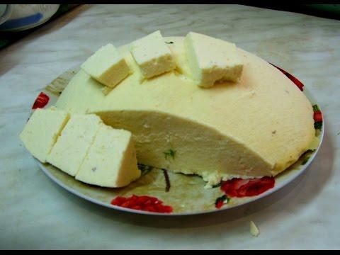 Как приготовить домашний сыр.