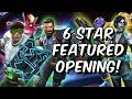 6 Star Featured Crystal Opening   Infinity War Champions!   Marvel Contest Of Champions