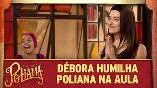 Débora humilha Poliana na aula de dança   As Aventuras de Poliana
