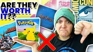 270$ WASTED!! Don't Buy Mystery Boxes at Conventions SaltEcrafter #74