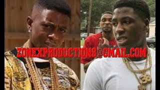 """NBA Youngboy calls Lil Boosie on live""""p*zzy n1cca gates send goons to jump me,lets eat him"""""""