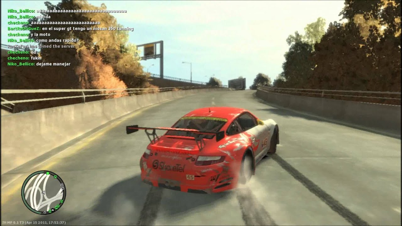 Gta IV Drift King - YouTube