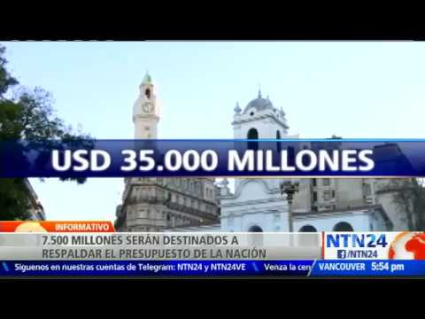 FMI aprobó préstamo por 50 000 millones de dólares a Argentina