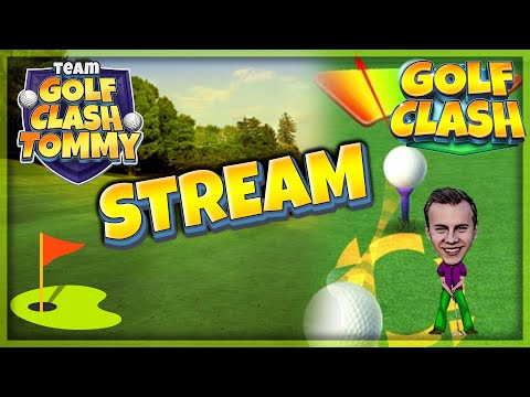 Golf Clash LIVESTREAM, Tour 11 & Tour 12 Griiiiind!! Lets play and have fun!