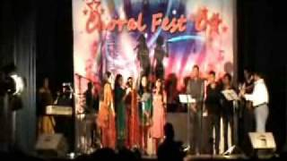 St John 39 S Mar Thoma Church U K Youth Music Group  Choral Fest 09  Part 2
