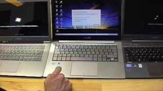 Ultrabook Trio Live Part 3 - Boot Race