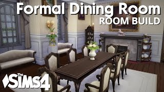 The sims 4 room build teen girls bedroom for Sims 4 dining room ideas