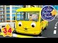 Las ruedas del autobús parte 12   Canciones infantiles   ¡34 minutos de recopilación LittleBabyBum! MP3