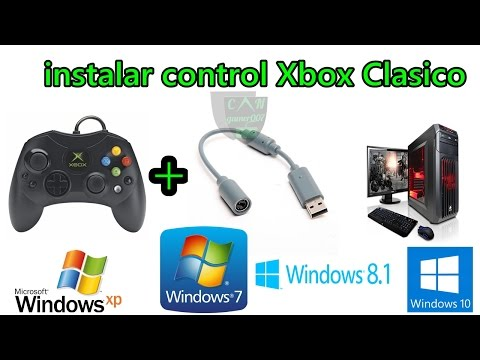 instalar el control de XBOX a la PC Windows XP .7 .8 .8.1 y 10 32bits