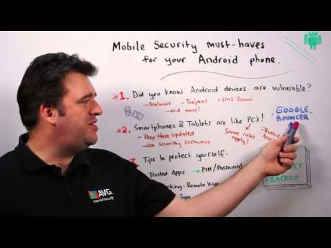 AVG's Michael McKinnon Explains Mobile Security And Must Haves For Your Android Phone