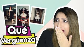 REACCIONANDO A FOTOS ANTIGUAS / VERGÜENZA TOTAL ! / Lorena Barrera
