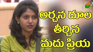 Bigg Boss Punishment On Archana About Total Housekeeping II Madhu Priya Elimination from Bigg Boss