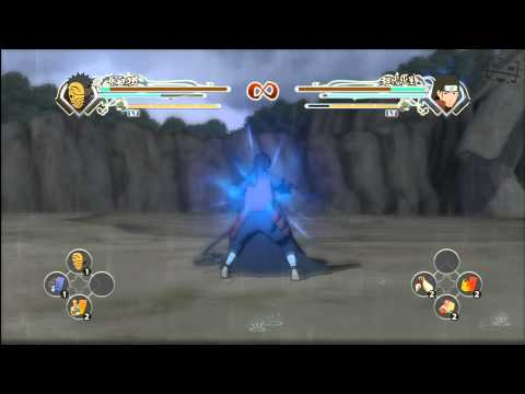 Naruto Generations | Madara (masked Man) Vs Hashirama (hd) video