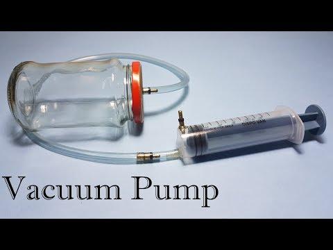 How to Make Vacuum Pump and Vacuum Chamber