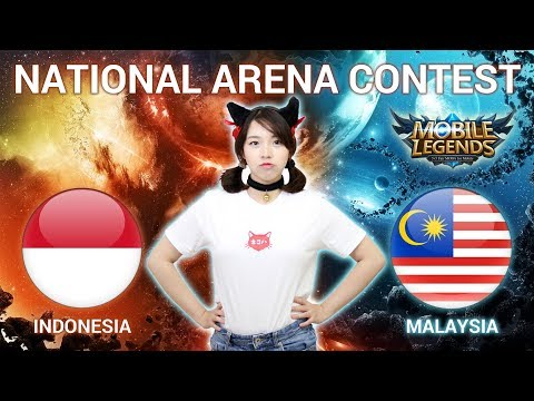 indonesia vs malaysia national arena contest cast by