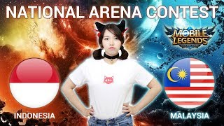 INDONESIA VS MALAYSIA - National Arena Contest Cast by Kimi Hime - 24/12/2017