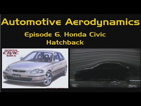 Automotive Aerodynamics Ep. 6: Honda Civic Hatchback