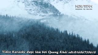 (Karaoke) Cô bé mùa đông - Đăng Khôi ft Thủy Tiên (beat gốc)