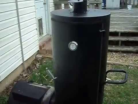 Brinkman Vertical Smoker Part 1