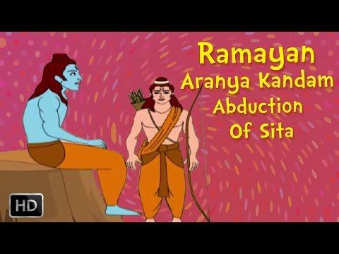 Ramayana Full Movie - Aranya Kandam (part -2) - The Abduction Of Sita - Animated Stories For Kids video