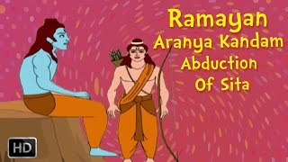 Abduction - Ramayana Full Movie - Aranya Kandam (Part -2) - The Abduction Of Sita - Animated Stories for Kids