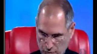 Steve Jobs listening to Bill Gates' iPad / iPad2 / iCloud idea