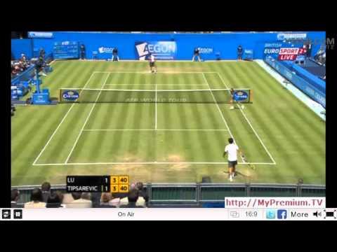 2012 ATP AEGON Championships S-3R.Yen-Hsun Lu vs Janko Tipsarevic - June 15th