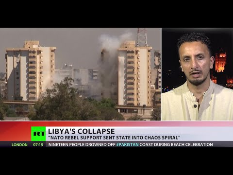 Failed State: 'NATO left Libya in chaos'