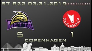 Euroleague 7th season HIGHLIGHT Betta - Urheilusukeltajat 5-1 (0-0)