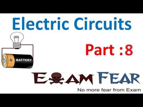 Physics Electric Circuits part 8 (Cell in parallel) CBSE class 12